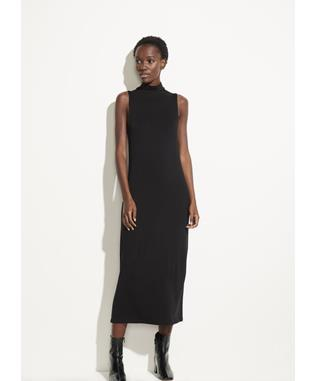 SLVLS MOCK NK DRESS