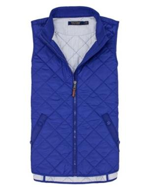 WOMENS HERITAGE QUILTED FULL-ZIP VEST