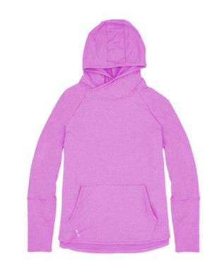 WOMENS LS CARBON SOFT HOODIE PULLOVER