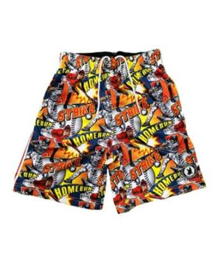 FLOW BASEBALL COMIC SIDELINE ATTACK SHORT