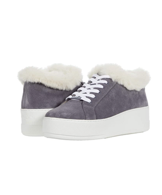 MELLIA SUEDE COZY LACE UP SNEAKER