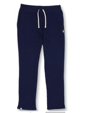 COTTON BLEND FLEECE PANT