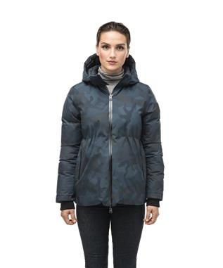 VIOLA LADIES REVERSIBLE PUFFER JACKET