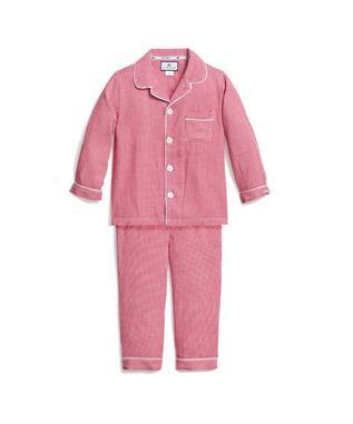 Red Mini-Gingham Classic Pajamas
