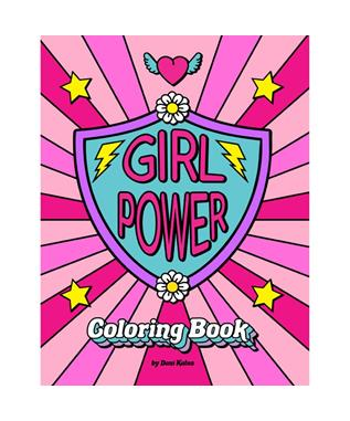 GIRL POWER COLORING BOOK