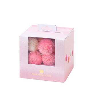We Heart Pink Pompom Lights