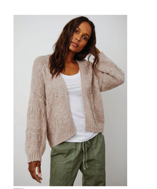 NOVELTY COTTON CARDIGAN
