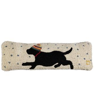 STAR CHASER BLACK LAB 8 X 24 PILLOW