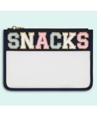 SNACKS SAPPHIRE CLEAR FLAT POUCH