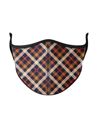KIDS Thanksgiving Plaid Face Mask