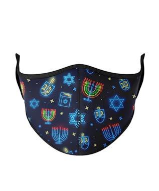 kids Hanukkah Face Mask