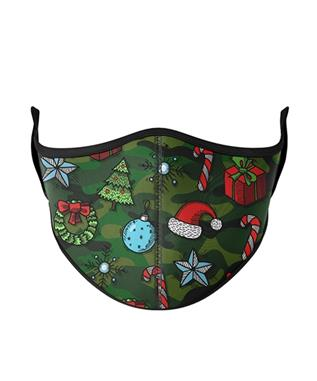 KIDS Christmas Camoflauge Face Mask