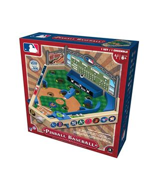 MLB TABLETOP WOOD PINBALL GAME