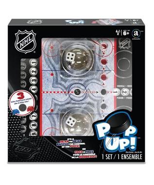 NHL POP UP DICE GAME