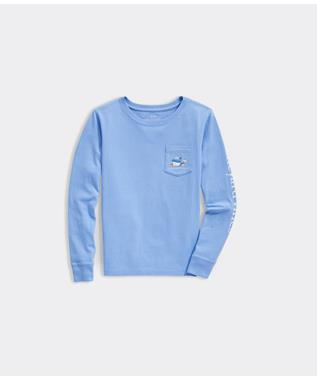 WINTER WHALE POCKET TEE