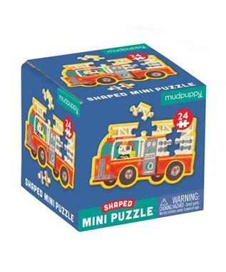 Mini Firetruck Puzzle
