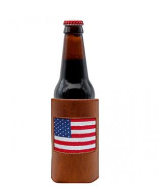 AMERICAN FLAG BOTTLE COOLER