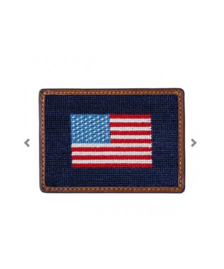 AMERICAN FLAG CREDIT CARD WALLET