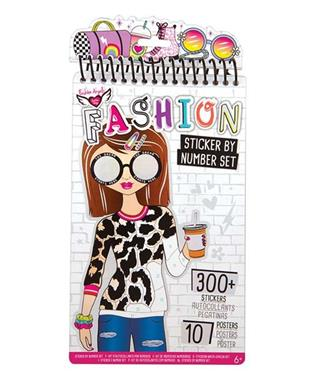 FASHION STICKER BY NUMBER