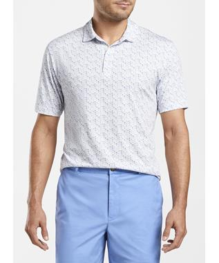SAND BAR AQUA COTTON POLO