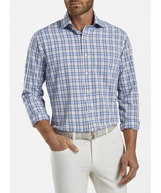 PETERSON PERFORMANCE POPLIN SPORT SHIRT
