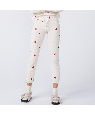 EMBROIDERED HEART VINTAGE SWEATS