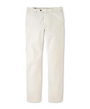 CONCORD GARMEN DYED FLAT FRONT TROUSER