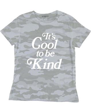 GIRLS COOL TO BE KIND GRAPHIC TEE