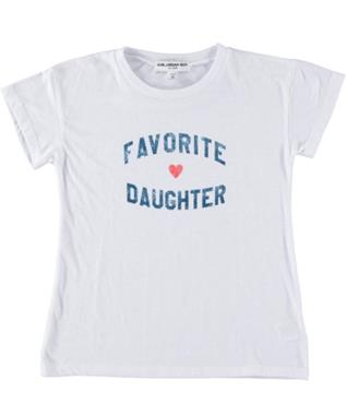 GIRLS FAVORITE DAUGHTER GRAPHIC TEE