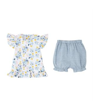 FLORAL SHIRT SHORT SET