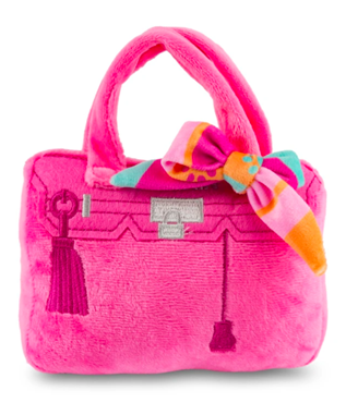 BARKIN BAG PINK WITH SCARF