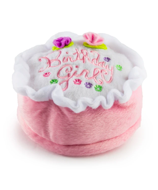 BIRTHDAY GIRL CAKE DOG TOY