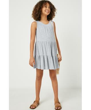 Textured Knit Tunic Dress