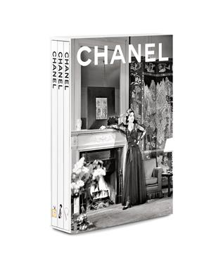 CHANEL NEW 3 BOOK CASE SET