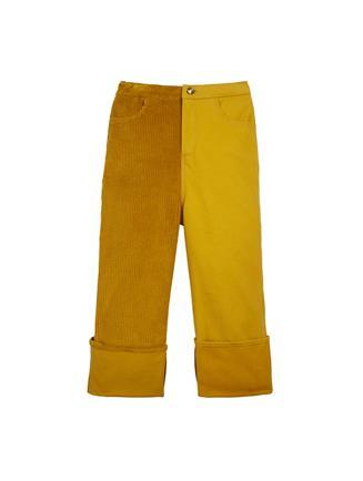 Twill Corduroy Pants  Saffron