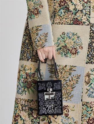 Plexiglass Alibi Bag  Black