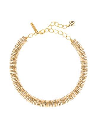 Pavé Caterpillar Necklace  Cry Gold Shadow