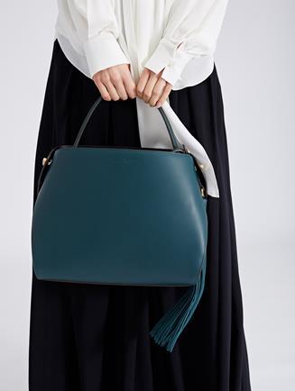 Spruce Leather Nolo Bag Spruce
