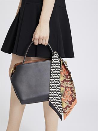 Black Leather Baby Nolo Bag Black