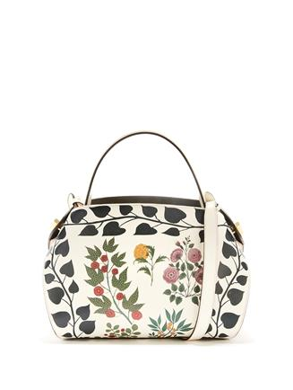 Printed Leather Baby Nolo Bag Ivory
