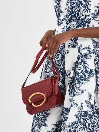 Oath Shoulder Bag Ruby