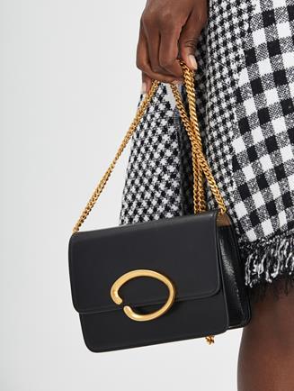 O Chain Wallet Black