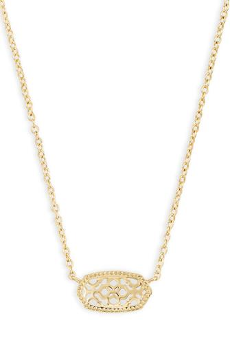 Gold Filigree Elisa Necklace GOLD