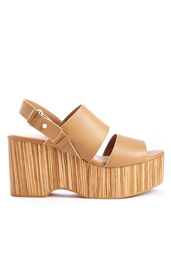 Nash Wood Sandal TAN
