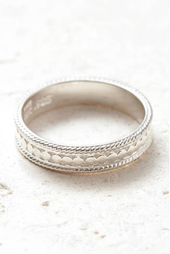 SILVER AUTHENTICITY RING SILVER