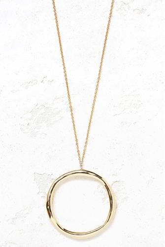 Quinn Long Adjustable Necklace GOLD