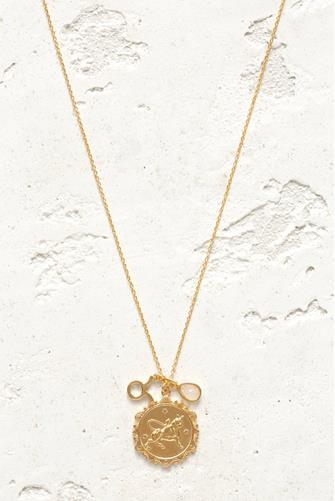 Taurus Charm Necklace GOLD