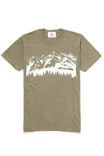 SS MOUNTAIN GRAPHIC T FOREST-GRN