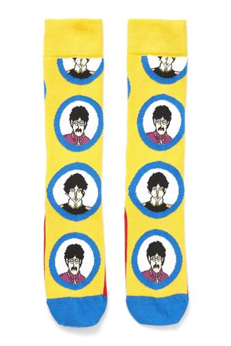 Beatles Submarine Socks YELLOW