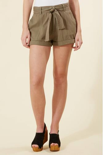 Day After Day Short OLIVE